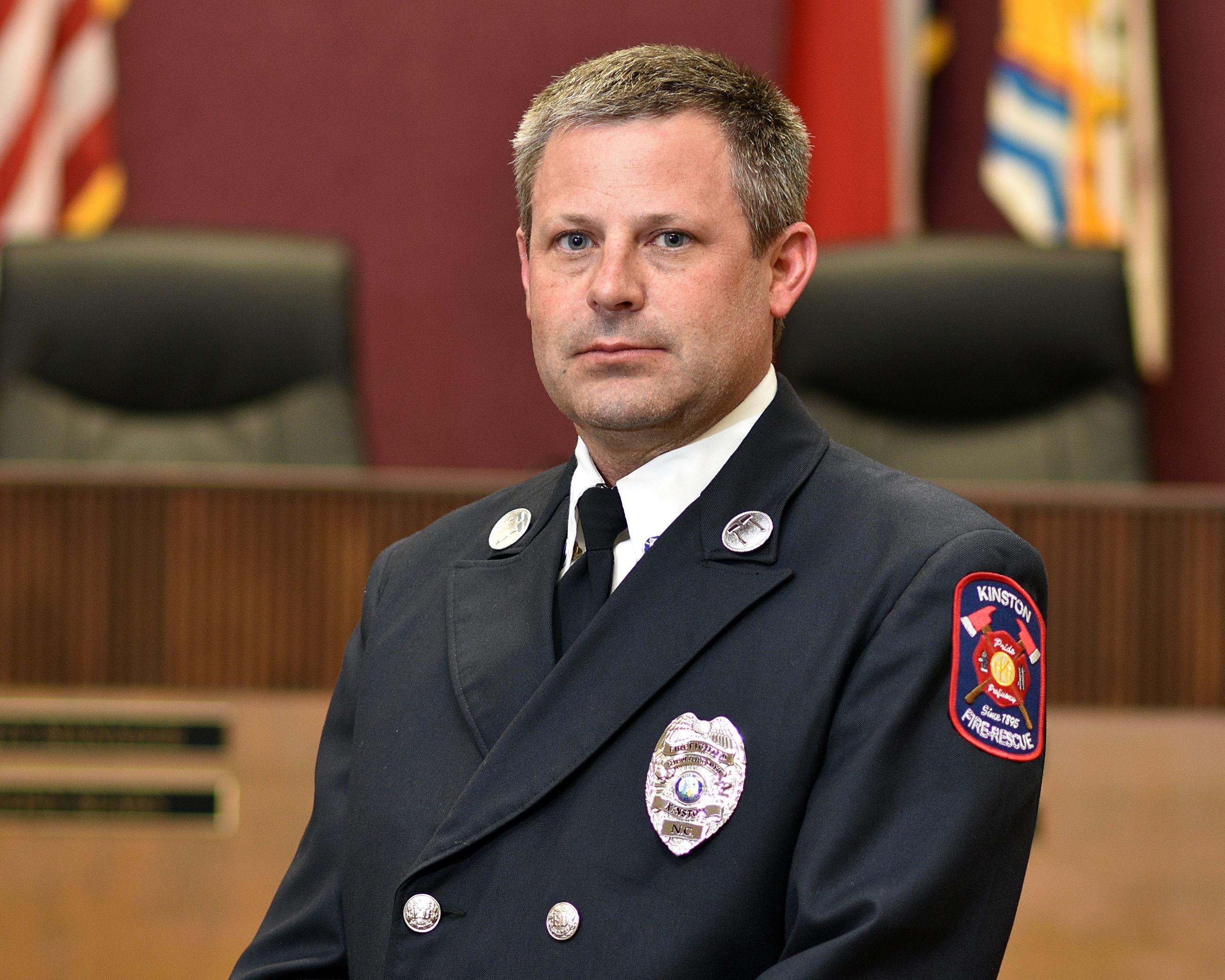 Fire Control Specialist II J. C. Pearson