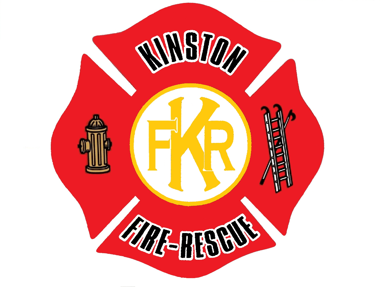 Kinston Department of Fire and Rescue Maltese Cross