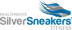 Healthways SilverSneakers Fitness logo with shoe