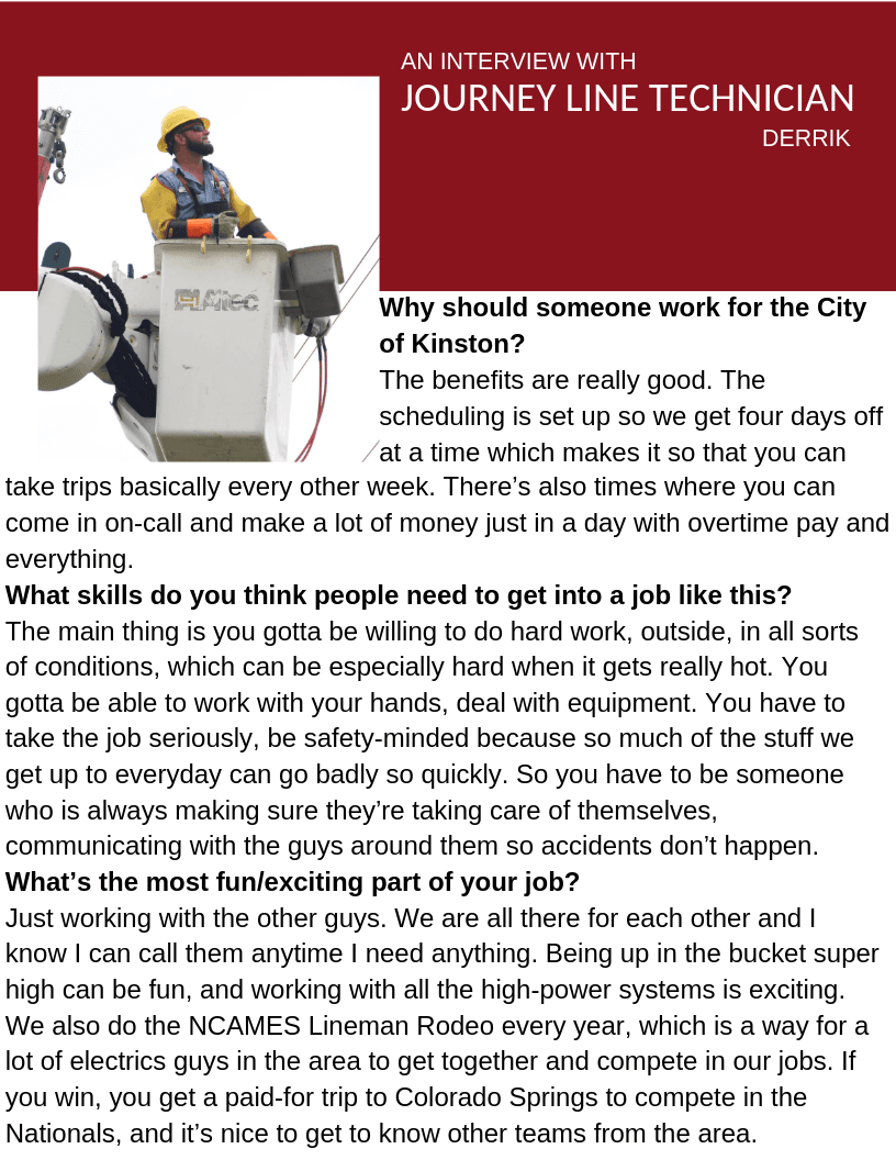 Journey Line Technician profile