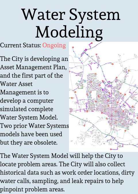 Water System Modeling