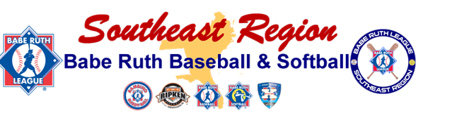 Southeast Region Babe Ruth Baseball & Softball League logo