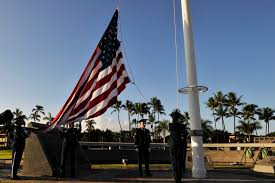 Honor Guard Flag Service (Unknown Military Base)