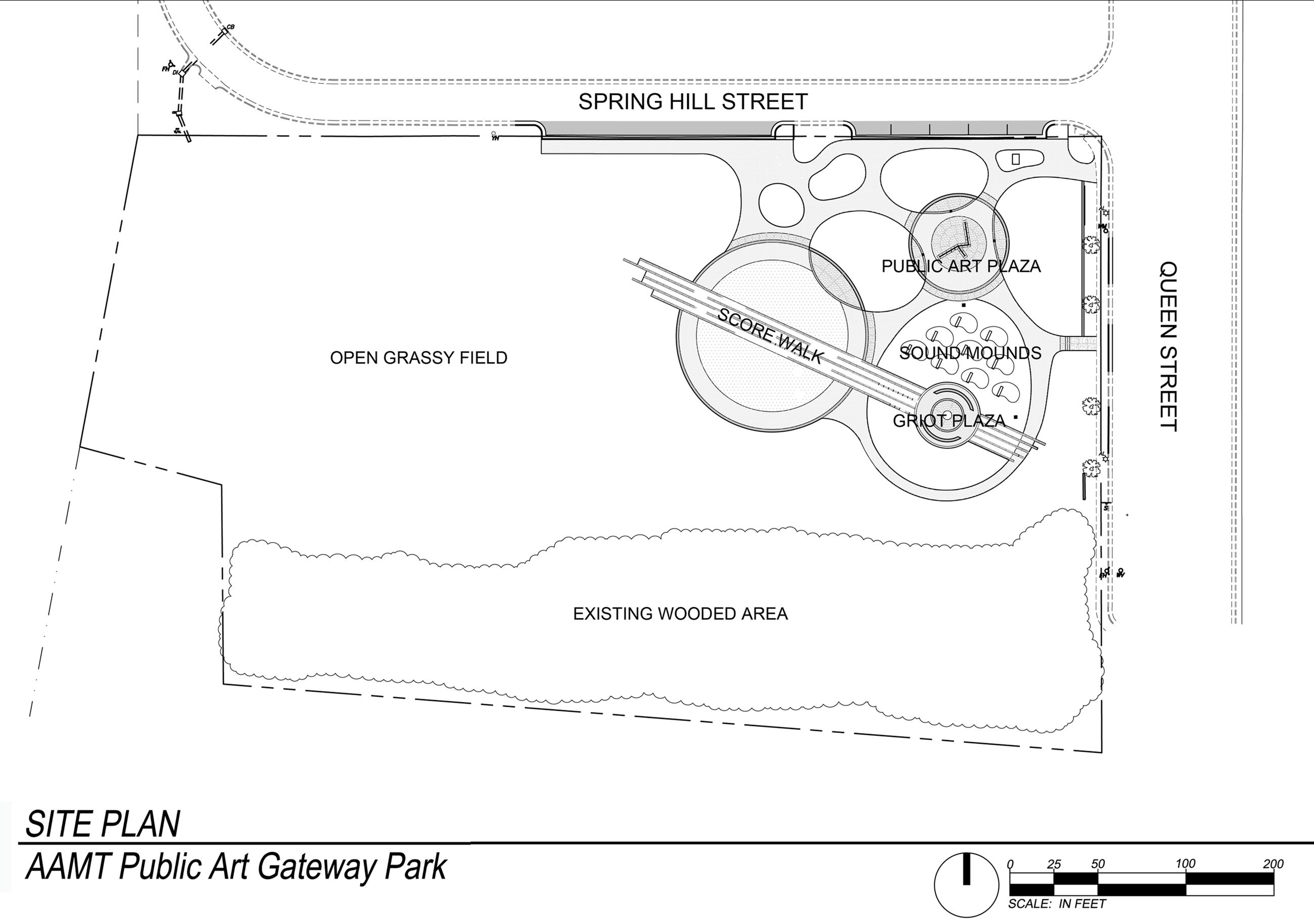 Music Park Site Plan
