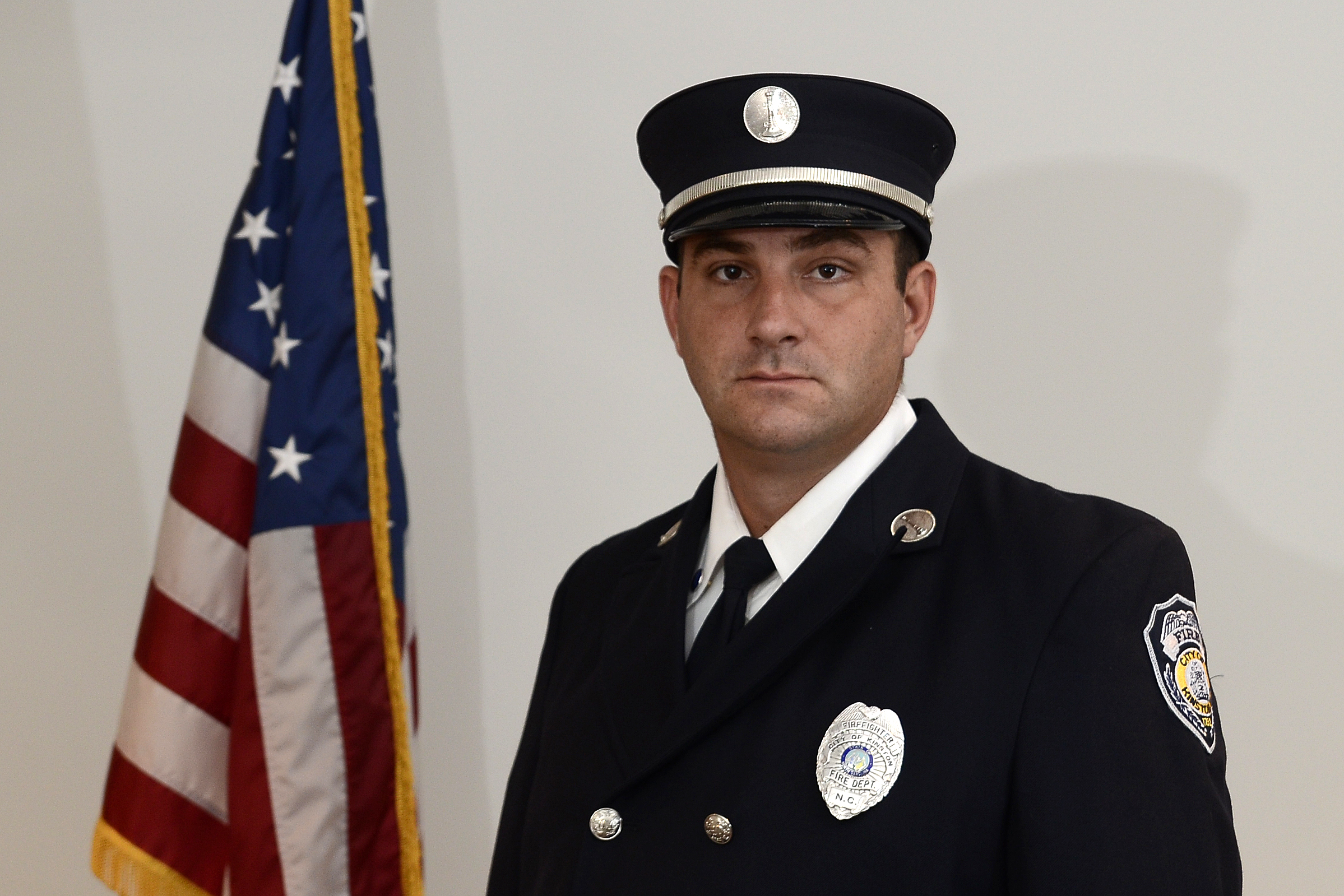 A Shift Captain, Engine 22 Chad Jackson
